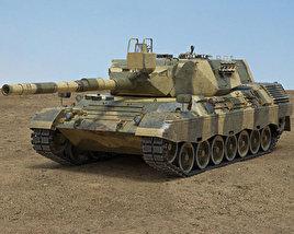 Leopard 1 Tank 3D model
