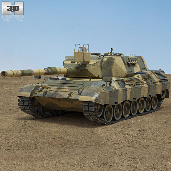 3D model of Leopard 1