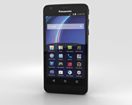 3D model of Panasonic Eluga U2 Black