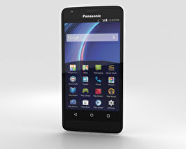 3D model of Panasonic Eluga U2 White