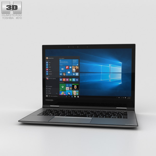 3D model of Toshiba Satellite Radius 12