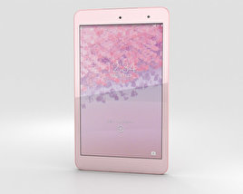 3D model of Kyocera Qua Tab 01 Pink