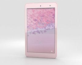 Kyocera Qua Tab 01 Pink 3D model