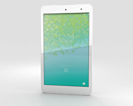 3D model of Kyocera Qua Tab 01 White