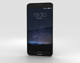 3D model of Meizu PRO 5 Gray