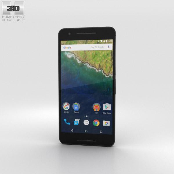 Huawei Nexus 6P Graphite 3D model