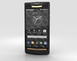 3D model of Vertu Signature Touch (2015) Pure Jet Red Gold
