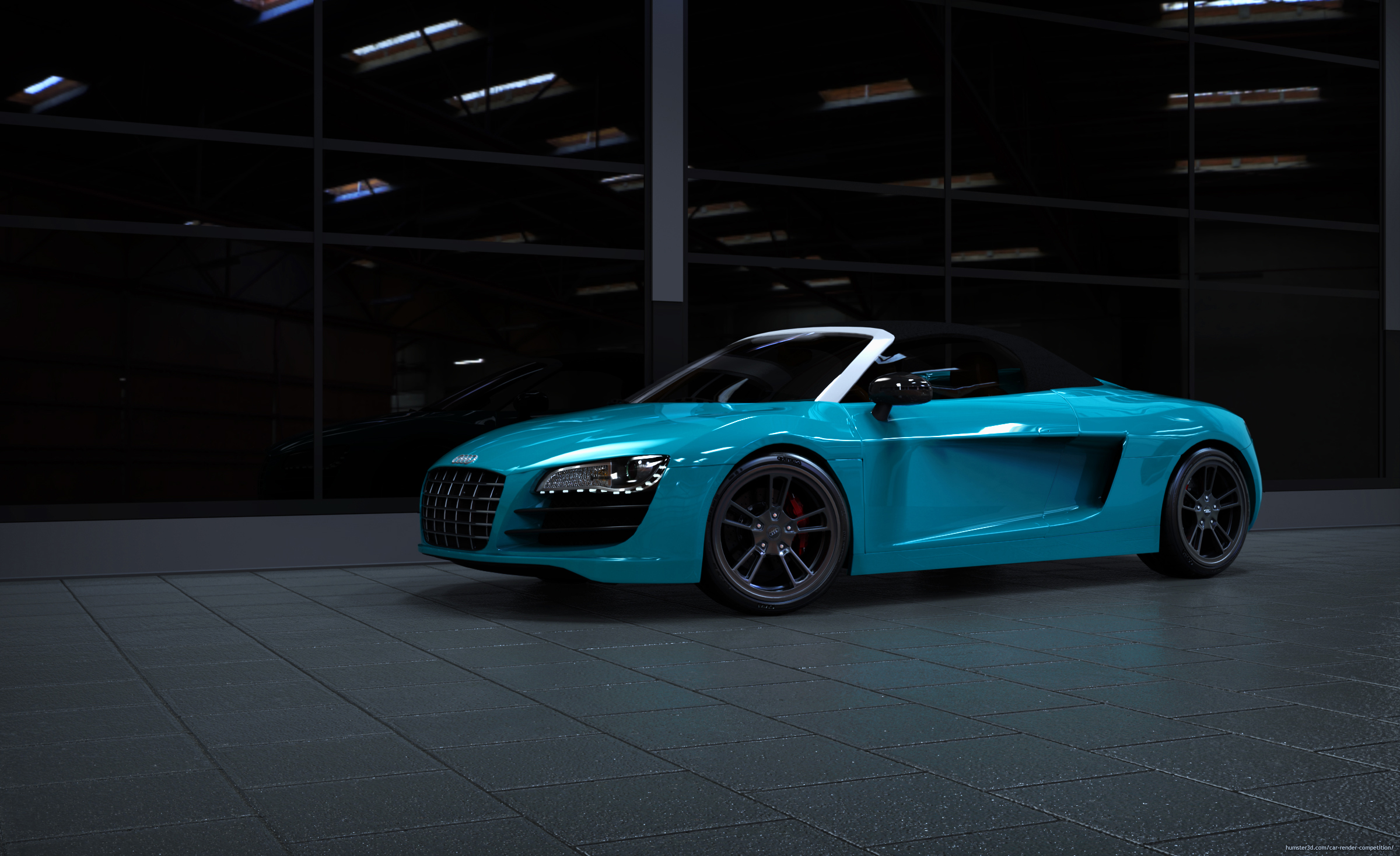 Factory New Audi R8 Roadster 3d art