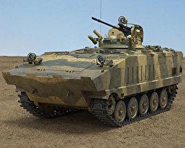 3D model of AMX-10P