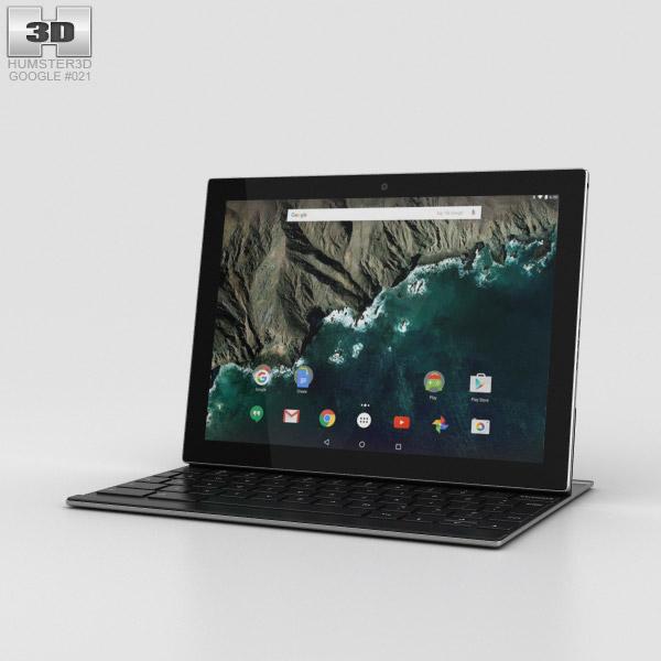 Google Pixel C 3D model