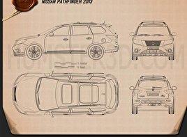 Nissan Pathfinder 2013 Blueprint