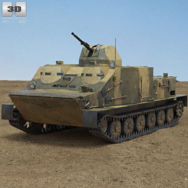 OT-62 TOPAS 3D model