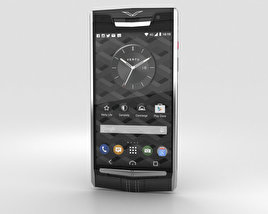 3D model of Vertu Signature Touch (2015) Jet Calf
