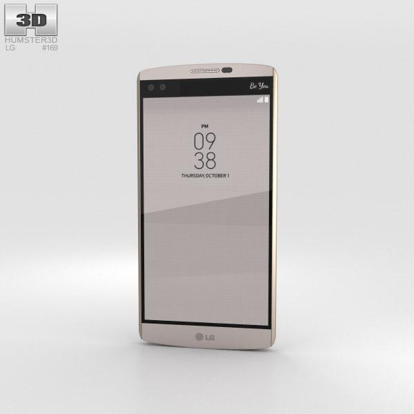 LG V10 Modern Beige 3Dモデル
