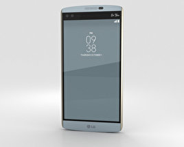 3D model of LG V10 Opal Blue
