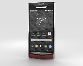 3D model of Vertu Signature Touch (2015) Garnet Calf
