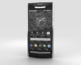3D model of Vertu Signature Touch (2015) Jet Alligator