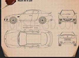 Mazda RX-8 2011 Blueprint