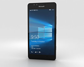 3D model of Microsoft Lumia 950 Black