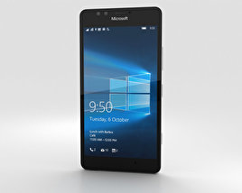 3D model of Microsoft Lumia 950 White