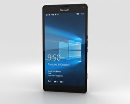 3D model of Microsoft Lumia 950 XL Black