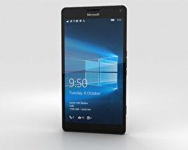 Microsoft Lumia 950 XL Black 3D model