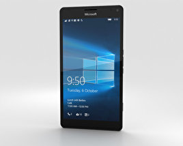 3D model of Microsoft Lumia 950 XL White