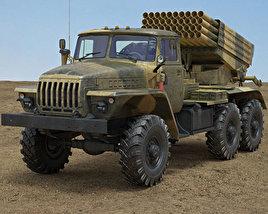 3D model of BM-21 Grad