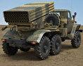 BM-21 Grad 3d model