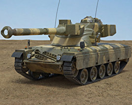 3D model of SK-105 Kurassier