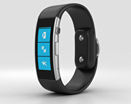 3D model of Microsoft Band