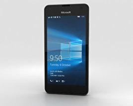 3D model of Microsoft Lumia 550 Black