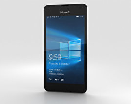 3D model of Microsoft Lumia 550 White