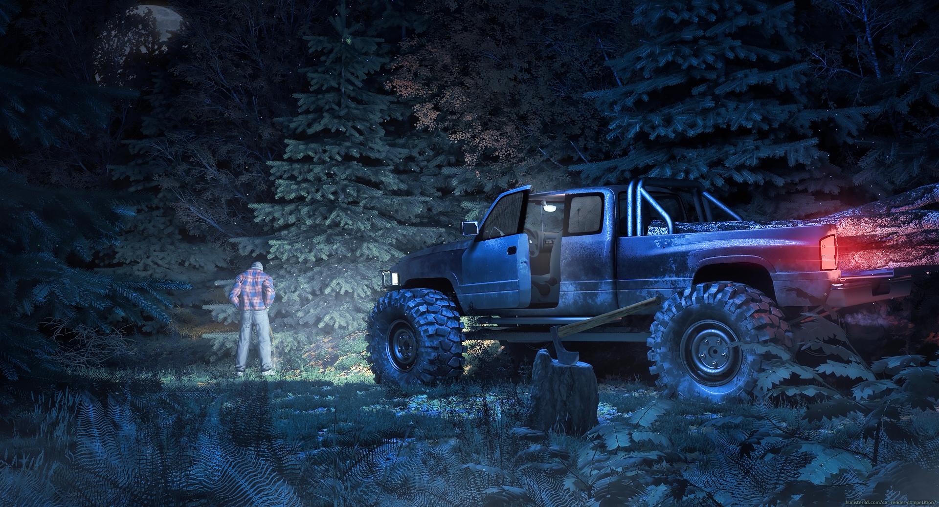 Dodge Ram Extrem Off Road 3d art