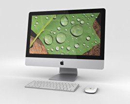 3D model of Apple iMac 21.5-inch Retina 4K