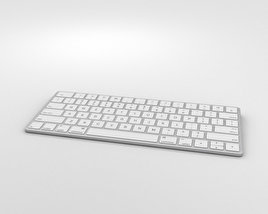 3D model of Apple Magic Keyboard