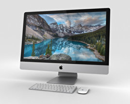 3D model of Apple iMac 27-inch 2015