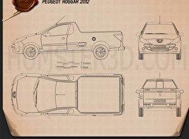Peugeot Hoggar 2012 Blueprint