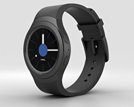 3D model of Samsung Gear S2 Black