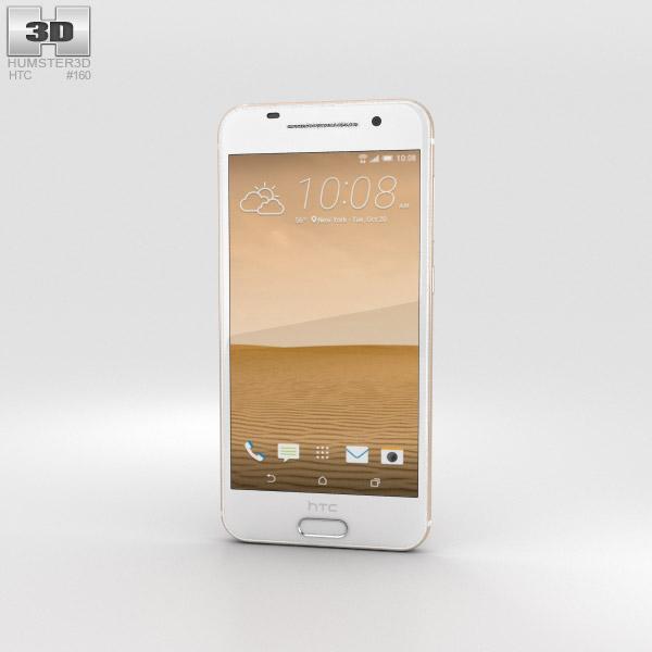 HTC One A9 Topaz Gold 3D model