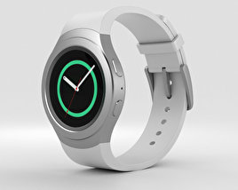 3D model of Samsung Gear S2 White