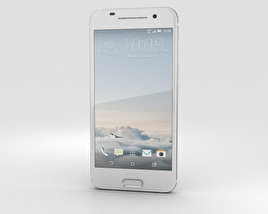 3D model of HTC One A9 Opal Silver