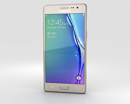 3D model of Samsung Z3 Gold
