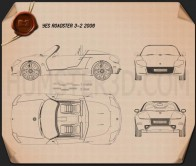 YES! Roadster 3.2 2006 Blueprint