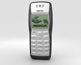 3D model of Nokia 1100 Black