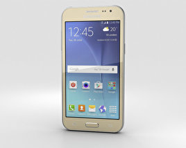 3D model of Samsung Galaxy J2 Gold