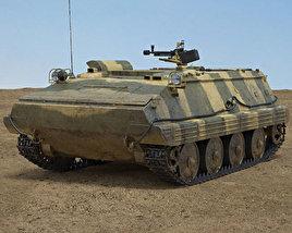 3D model of Type 63 APC