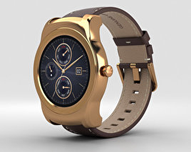 3D model of LG Watch Urbane Gold