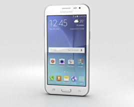 3D model of Samsung Galaxy J2 White