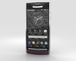 Vertu Signature Touch (2015) Grape Lizard 3D model